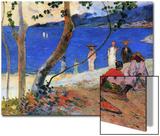Seashore, Martinique Island, 1887 Poster par Paul Gauguin