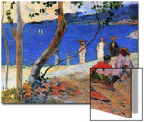 Seashore, Martinique Island, 1887 Poster by Paul Gauguin