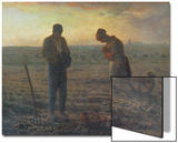 Evening Prayer (L'Angelus), 1857/59 Prints by Jean-François Millet