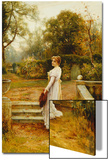 A Stroll in the Garden Posters by Ernest Walbourn