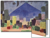 The Mountain Niesen, Egyptian Night Prints by Paul Klee