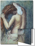 Femme a Sa Toilette, C.1895 (Pastel on Paper) Print by Edgar Degas