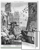 Calle de la cerveza 1751 Lámina por William Hogarth