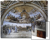 La Disputa (Disputation of the Holy Sacrament) Posters by  Raphael