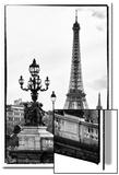 Romantic Eiffel Tower - Paris Poster by Philippe Hugonnard