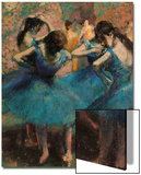 Dancers in Blue (Danseuses Bleues) Prints by Edgar Degas