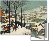 The Return of the Hunters Posters by Pieter Bruegel the Elder