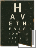 Eye Chart IV Art by Jess Aiken