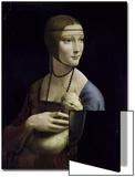 Portrait of Cecilia Gallerani (Lady with an Ermine) Posters by  Leonardo da Vinci