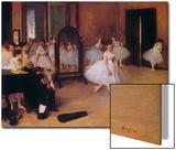 Dancing Class (Classe De Danse), about 1871 Art by Edgar Degas