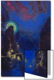 Die Hl, Jungfrau Mit Dem Heiligenschein Posters by Odilon Redon