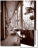 The Veranda at the Park Avenue Hotel, 1901 or 1902 Posters by  Byron Company