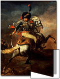 Officer of the Hussars, 1814 Print by Théodore Géricault