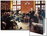A Clinical Lesson with Doctor Charcot at the Salpetriere, 1887 Posters by Pierre Andre Brouillet