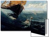 The Mermaid's Rock, 1894 Posters par Edward Matthew Hale