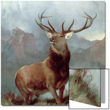 Monarch of the Glen, 1851 Art by Edwin Henry Landseer