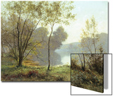 Late Summer Afternoon on the Lake Prints by Albert Gabriel Rigolot