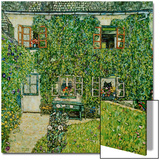 Forsthaus in Weissenbach Am Attersee Art by Gustav Klimt