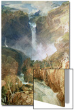 The Great Falls of the Reichenbach, 1804 Print by J. M. W. Turner
