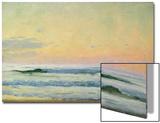 Sea Study - Evening (Oil on Panel) Art by Adrian Scott Stokes