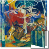 Deer in the Forest I, 1913 Poster by Franz Marc