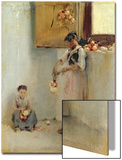Stringing Onions, C.1882 Prints by John Singer Sargent