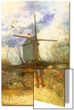 The Windmill, 1886 Art by Vincent van Gogh