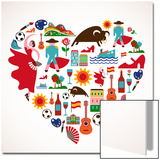 Spain Love Prints by  Marish