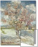 Bluehende Pfirsichbaeume (Souvenir De Mauve), 1888 Art by Vincent van Gogh