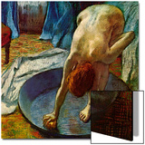 Woman in a Tub, 1886 Posters by Edgar Degas