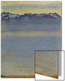 Lake Geneva with Savoyer Alps, 1907 Posters by Ferdinand Hodler