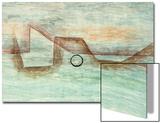 Flooding; Uberflutung Print by Paul Klee