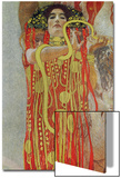 Medicine, Part of the Ceiling Fresco for the Vienna University, 1900/07 Print by Gustav Klimt