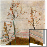 Autumn Trees, 1911 Posters by Egon Schiele