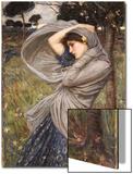 Boreas, 1903 Poster by John William Waterhouse