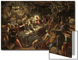 The Last Supper, 1594 Prints by Jacopo Robusti Tintoretto