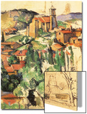 Village of Gardanne, 1885 Posters by Paul Cézanne