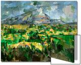 Mont Sainte-Victoire, C.1902 Print by Paul Cézanne