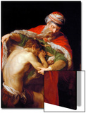 Return of the Prodigal Son, 1773 Poster by Pompeo Batoni