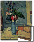 The Blue Vase, 1889-90 Poster by Paul Cézanne