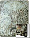 Das Jüngste Gericht Poster von William Blake