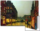 Boar Lane, Leeds, 1881 Posters by John Atkinson Grimshaw