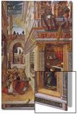 The Annunciation with St. Emidius, 1486 Kunstdrucke von Carlo Crivelli
