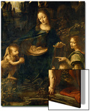 The Madonna of the Rocks Prints by  Leonardo da Vinci