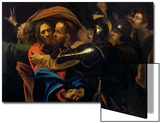 The Taking of Christ Print by  Caravaggio