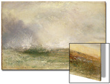 Stormy Sea Breaking on a Shore, 1840-5 Posters by J. M. W. Turner