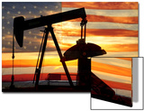 American Oil Art by  Striking-Photography