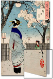 Moon of the Pleasure Quarters, One Hundred Aspects of the Moon Prints by Yoshitoshi Tsukioka