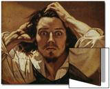 Le Desespere (Self portrait, The Des- paring Man), 1841 Print by Gustave Courbet