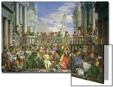 The Wedding at Cana Poster von Paolo Veronese